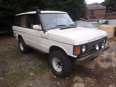 Rare 1973 Range Rover Classic Suffix B 2 Door Solid Barn Find Moted No Reserve
