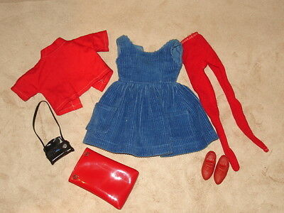 1960s Tammy Doll's Campus Outfit All Original w/Tags&Acc's Ideal Toy Corp VGC NR