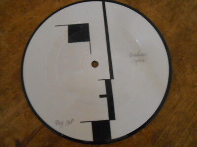 "Bauhaus Spirit Orig 7"" Pic Picture Disc In Printed Pvc Sleeve Goth Punk"