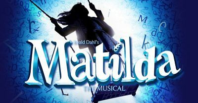 2 TICKETS FOR MATILDA THE MUSICAL - London