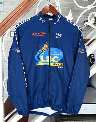Giordana Full Zip Long Sleeve Cycling Top Size : L