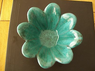 Blue Mountain Pottery Flower Shaped Bowl