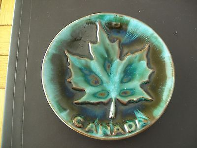 Blue Mountain Pottery Maple Leaf Plate