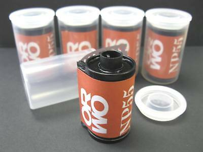 5 Rolls Orwo NP55 ISO 64 Black and White Negative Film 35mm x 36 Exp