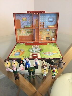 Wallace and Gromit collectable toy house