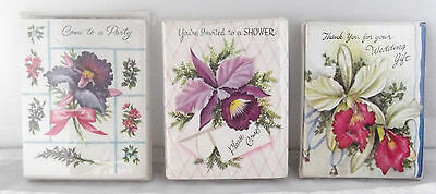 Vintage Greeting Cards Party Shower Wedding Gift