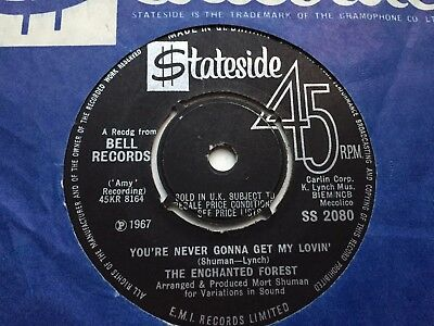 """The Enchanted Forest """"your Never Gonna Get"""" 1967 Uk Stateside"""