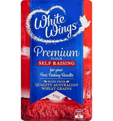 White Wings Self Raising Flour 5kg x 1
