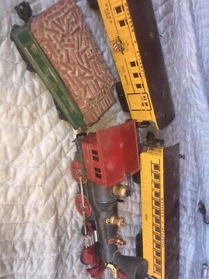 Lionel The General 4 pieces- 1862 Engine, 1862T,Tender, 1865 Car, 1866 Mail Car