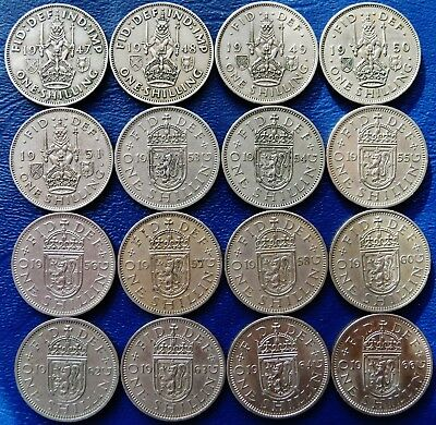 ONE ONLY UK Shilling Scottish Version, You Choose the Date / Dates