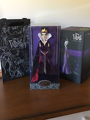 Disney Store Villains Designer Doll Collection EVIL QUEEN Limited Edition Bag LE
