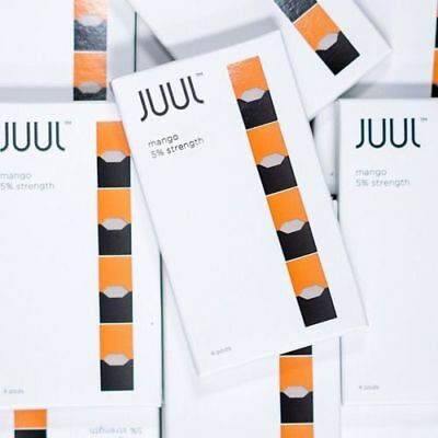 JUUL PODS FACTORY SEALED **Mango / Virginia / Mint** BRAND NEW COMPANY SEAL