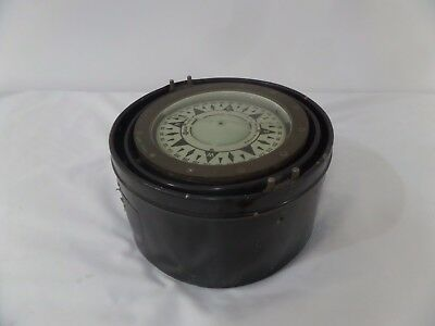 Saura Boat Ship Gimble Compass with Wagner Auto Pilot Made in Japan Nautical