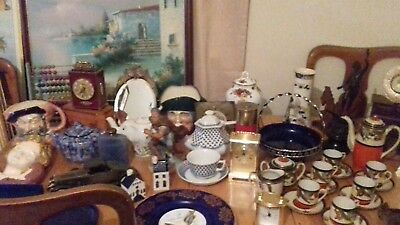 Huge Joblot of Collectables & Antiques incl Royal Doulton