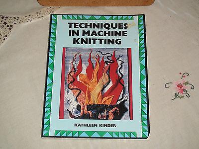 Knitting Machine Book Techniques In Machine Knitting