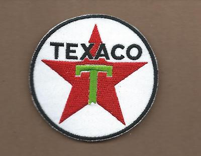 New 3 Inch Texaco Gasoline Iron On Patch Free Shipping