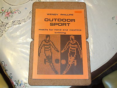 Knitting Machine Book Outdoor Sports By Wendy Phillips