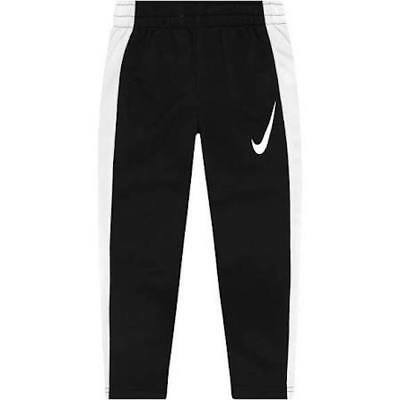 Nike Boys' Performance Knit Sweatpants Black/White 837534 010 nwt $35