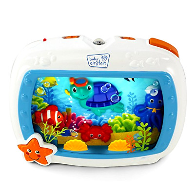 Sea Dreams Soother 4 Modes with Crib Attachment Buckle and Fun Remote Control