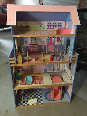 Doll House With Some Furniture