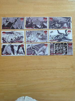 Batman And Robin Movie Storyboards Cards Skybox 1997 DC Comics Near Complete Set