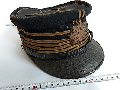 WWII Japanese Military Imperial Army Soldier's Dress uniform Hat Cap-K-