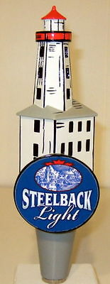 Steelback Light- Lighthouse Beer Tap Handle