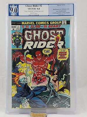 Ghost Rider #2 SIGNED 1st Full Appearance Daimon Hellstrom Son of Satan PGX 9.0