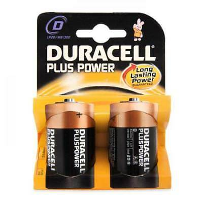 DURACELL PILES ALCALINES TORCH MN1300 D COUPLE 2 PIECES TORCH pile alcaline