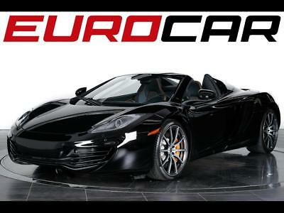 2013 McLaren MP4-12C Spider 2013 McLaren MP4-12C Spider - CARBON FIBER ENGINE COVER, Carbon Fiber Interior