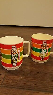 Deka Lifesavers Plastic Collectible Candy Advertising Mug or Cup