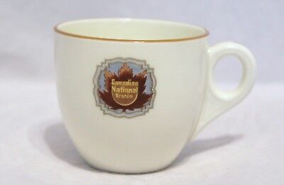 "Royal Doulton Demitasse Cup - ""Canadian National System"" Railway Ware"