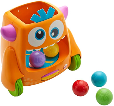 Zoom n Crawl Monster with 5 Colorful Balls to Fill and 15 Plus Silly