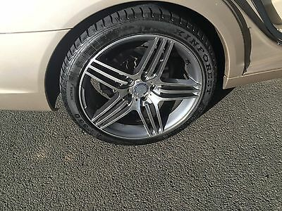 Mercedes S Class AMG wheels and tyres