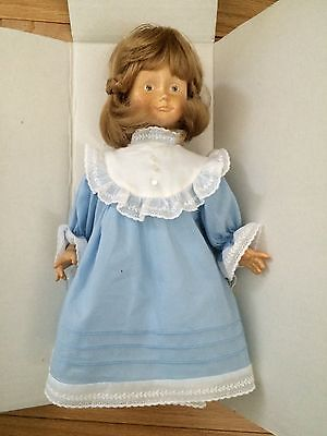 "Collectors Dolfi Original Handcarved Wooden Bianca Doll-Box 13""  LE 50024/33 NEW"