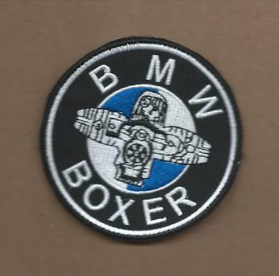 New 3 Inch Bmw Boxer Iron On Patch Free Shipping