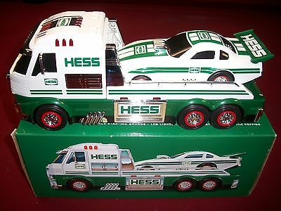 2016 TOY HESS TRUCK and DRAGSTER in original box.