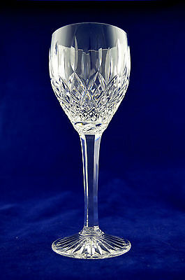 "Stuart Crystal Shaftesbury Large (193mm tall) Wine Glass Signed Etched ""Stuart"""