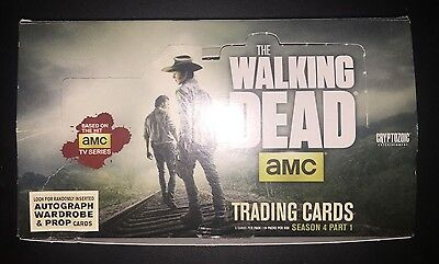 The Walking Dead Trading Cards Series 4 Part 1 Cryptozoic Base Sets + Chase Sets