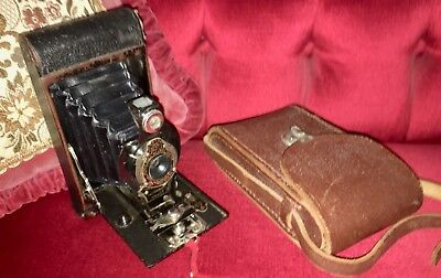 VINTAGE no.2 Folding Autographic Brownie 120 roll film camera