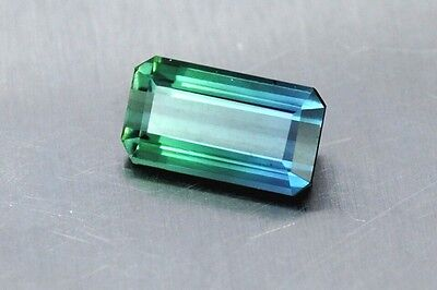 IF 3.20 Ct Most Unique and Beautiful Paraiba Blue + Green Natural Tourmaline
