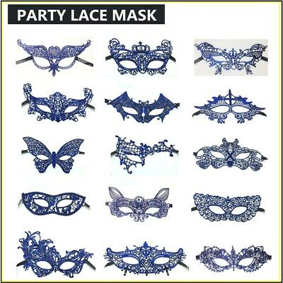3 colors Lace mask Ladies Masquerade Ball Costume Party Hallowma Fancy Dress New