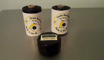 Bagpipe Joint Replacement Kit (waxed hemp)