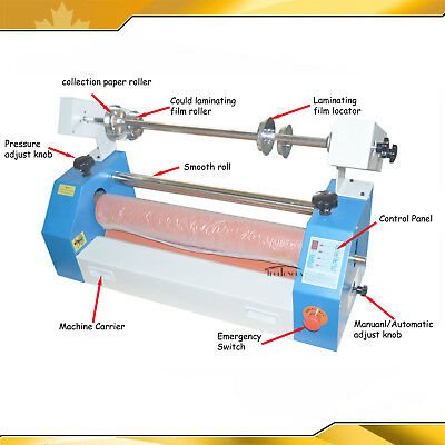 Semi-Auto 25In 650mm Cold Laminator Automatic/Manual Laminator Plywood Package
