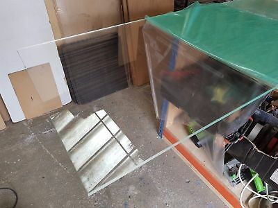 10mm Ex Stock Clear Acrylic Perspex Sheet Custom Cut To Size Panels Plastic