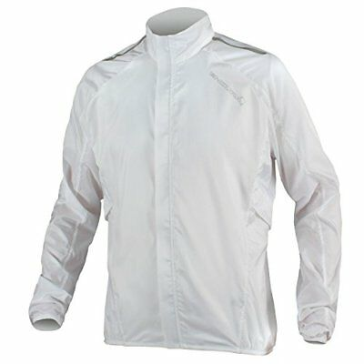 Endura Men's Pakajak Cycling Jacket (White / (S) Small)