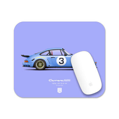 1974 Porsche 911 RSR (Blue) illustration Mouse Pad