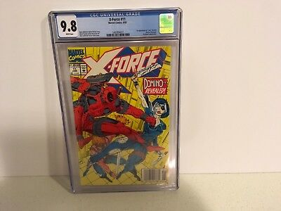 X-Force #11 CGC 9.8 1st Appearance Domino