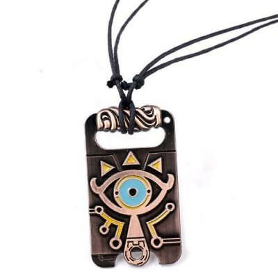 The Legend of Zelda Sheikah Slate Necklace Breath of the Wild Pendant Cosplay ^