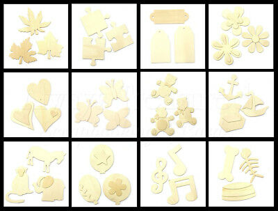 Kaisercraft Kaiser Wooden Raw Shapes ~ 12 Design Options ~ Wood Craft